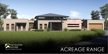 single storey double storey acreage custom design - Home Design Gallery